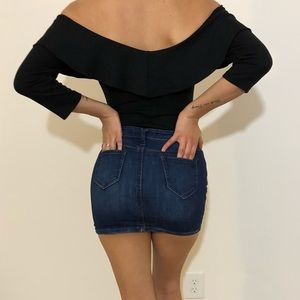 Dresses & Skirts - Mini denim skirt